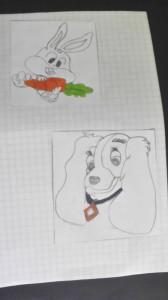 premiers dessins